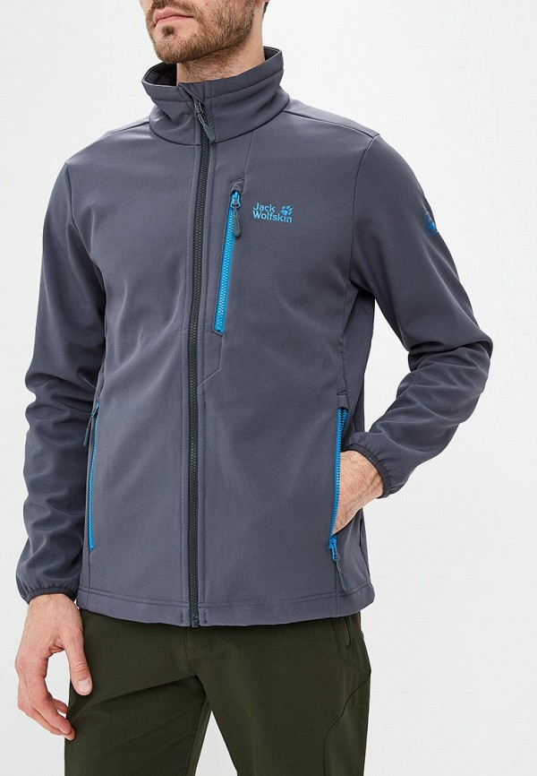 Купить Куртка спортивная Jack Wolfskin, WHIRLWIND MEN, ja021emcofx2, серый, Осень-зима 2018/2019