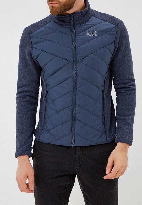 Купить Куртка утепленная Jack Wolfskin, CARIBOU CROSSING TRACK, JA021EMCOFX3, синий, Осень-зима 2018/2019
