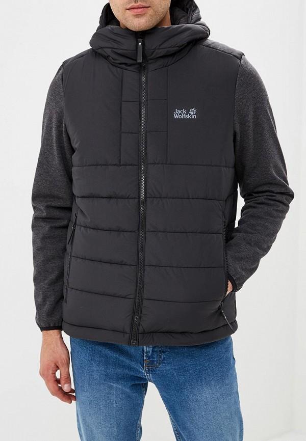 Купить Куртка утепленная Jack Wolfskin, SKYGUARD JACKET MEN, JA021EMCOFX9, черный, Осень-зима 2018/2019