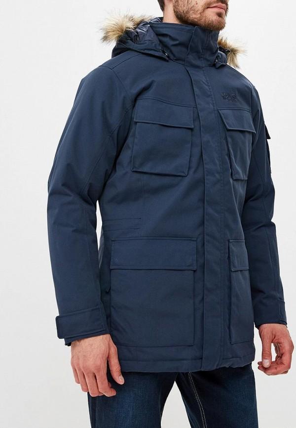 Купить Куртка утепленная Jack Wolfskin, GLACIER CANYON PARKA, JA021EMCOGJ3, синий, Осень-зима 2018/2019