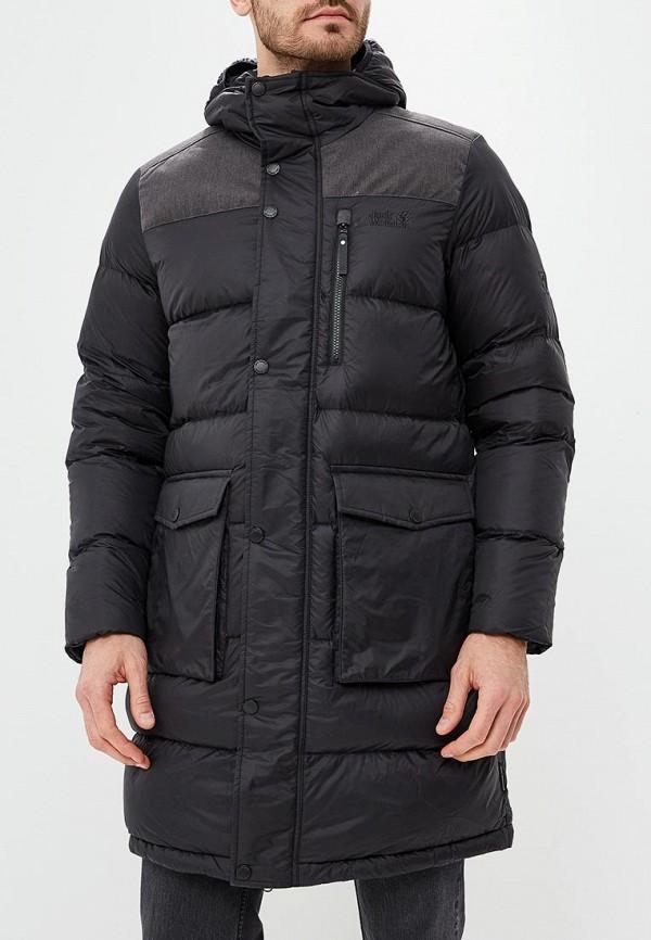 Купить Пуховик Jack Wolfskin, RICHMOND COAT MEN, ja021emcogk5, черный, Осень-зима 2018/2019
