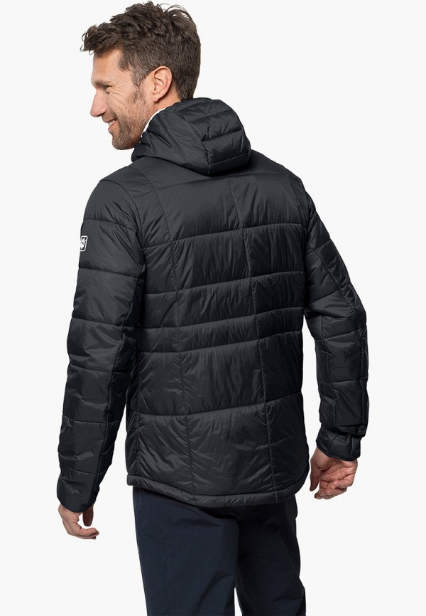 Фото 2 - Куртку утепленная Jack Wolfskin черного цвета