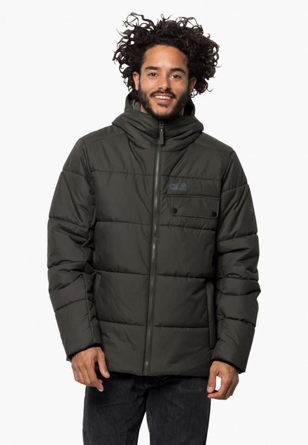 мужская куртка jack wolfskin, хаки
