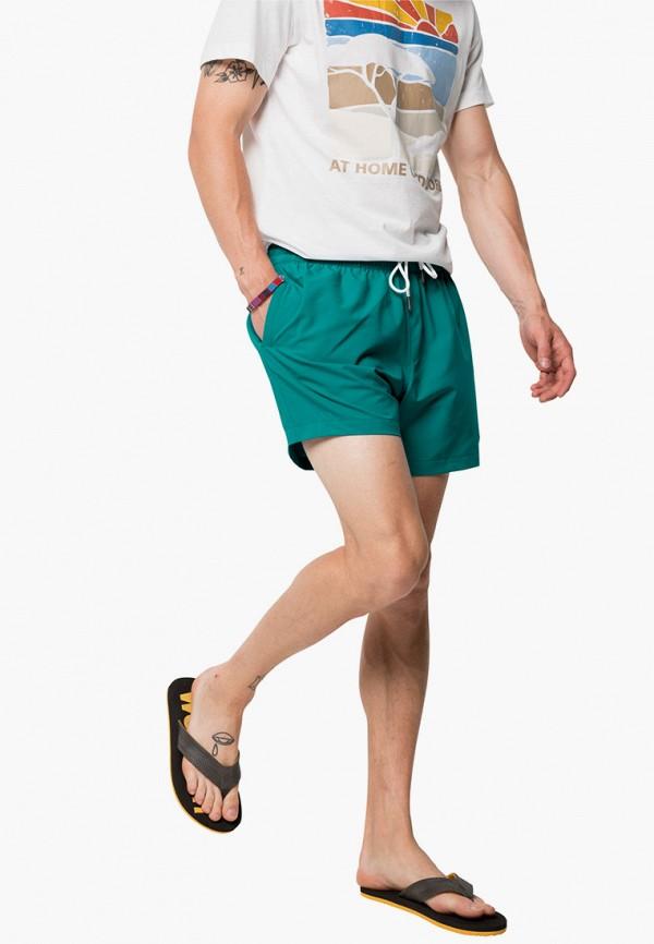 мужские спортивные шорты jack wolfskin, бирюзовые