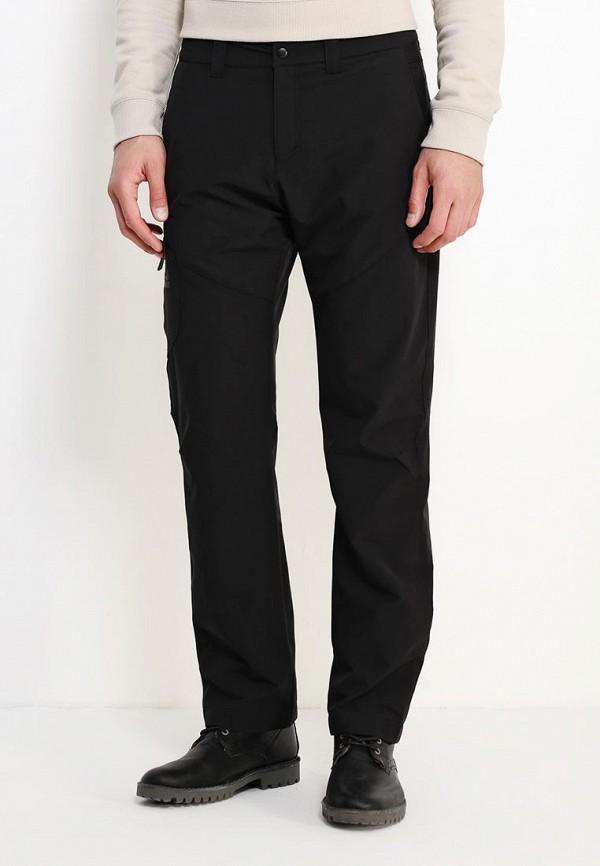 мужские брюки jack wolfskin, черные