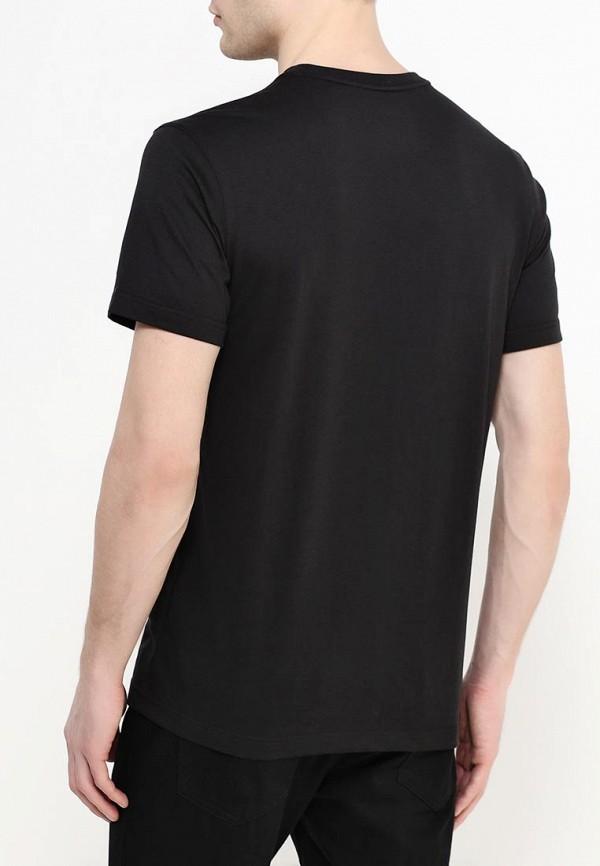 Фото 3 - мужскую футболку Jack Wolfskin черного цвета