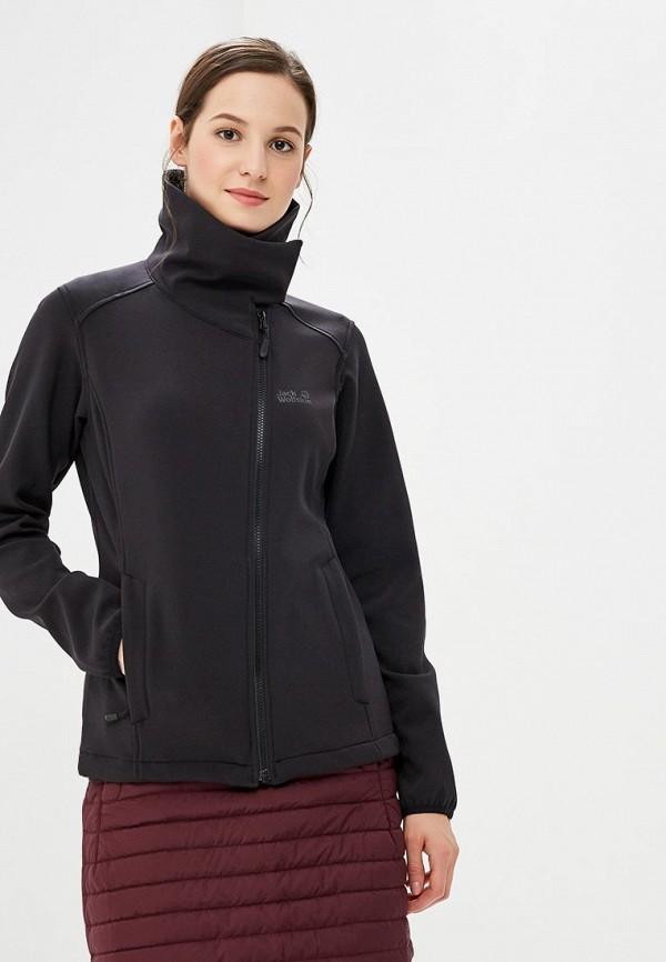 Куртка утепленная Jack Wolfskin, ELEMENT VALLEY WOMEN, JA021EWCOGM3, черный, Осень-зима 2018/2019  - купить со скидкой