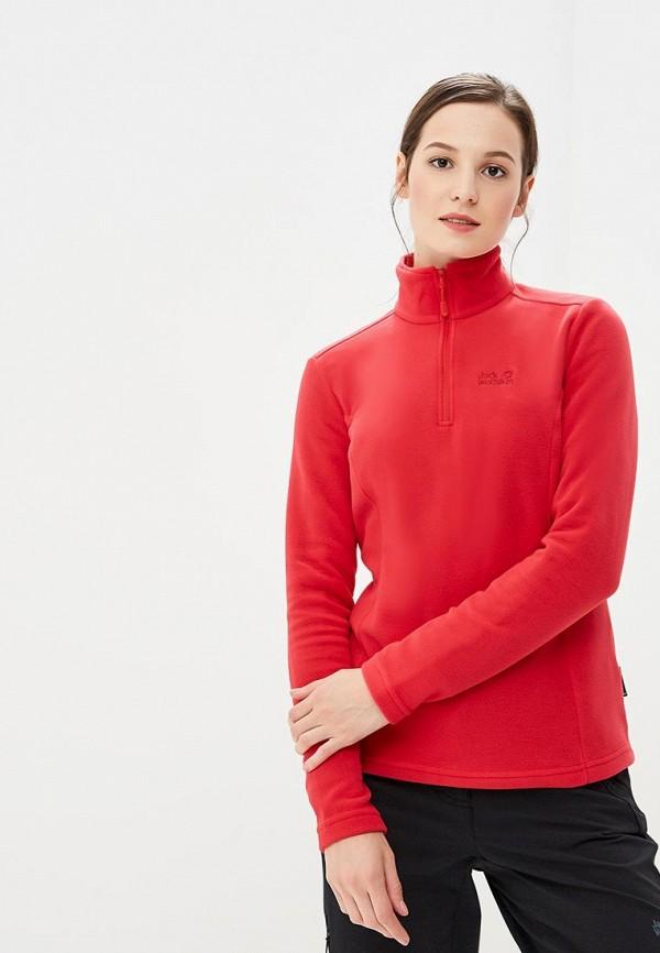 Купить Олимпийка Jack Wolfskin, GECKO WOMEN, JA021EWCOGN8, красный, Осень-зима 2018/2019