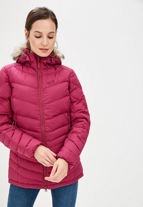 Купить Пуховик Jack Wolfskin, SELENIUM BAY, JA021EWCOGO4, розовый, Осень-зима 2018/2019
