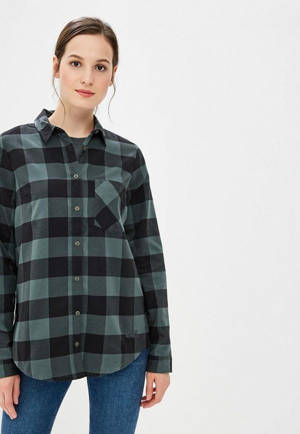 Купить Рубашка Jack Wolfskin, HOLMSTAD SHIRT, JA021EWCOGP6, зеленый, Осень-зима 2018/2019
