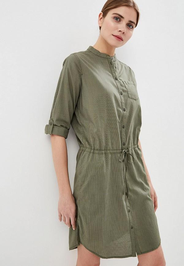 Фото - женское платье Jack Wolfskin цвета хаки