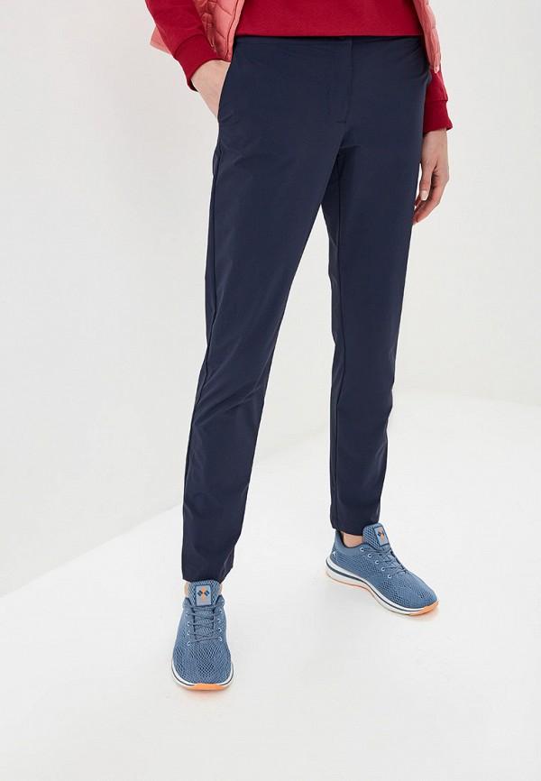 женские спортивные спортивные брюки jack wolfskin, синие