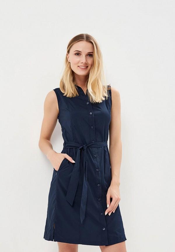 женское спортивные платье jack wolfskin, синее