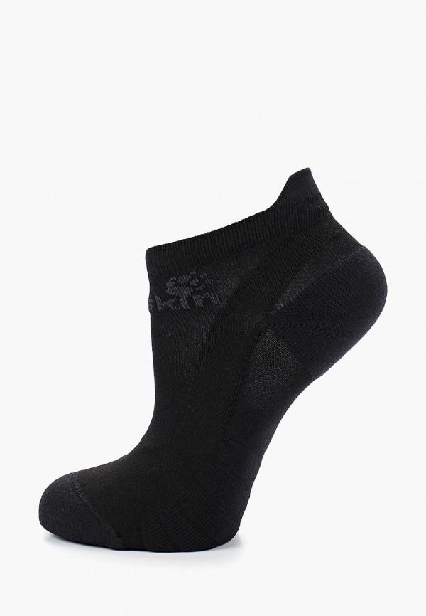женские носки jack wolfskin, черные