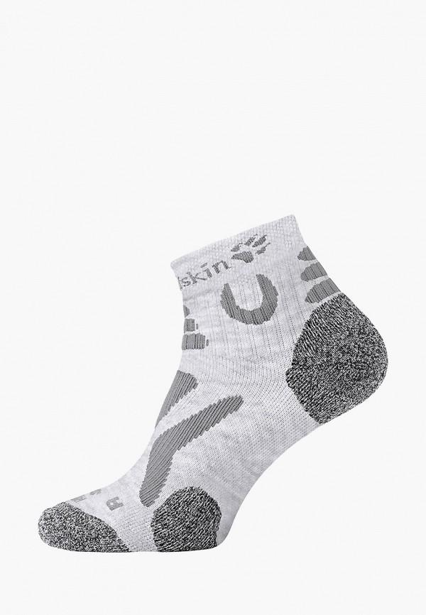 женские носки jack wolfskin, серые