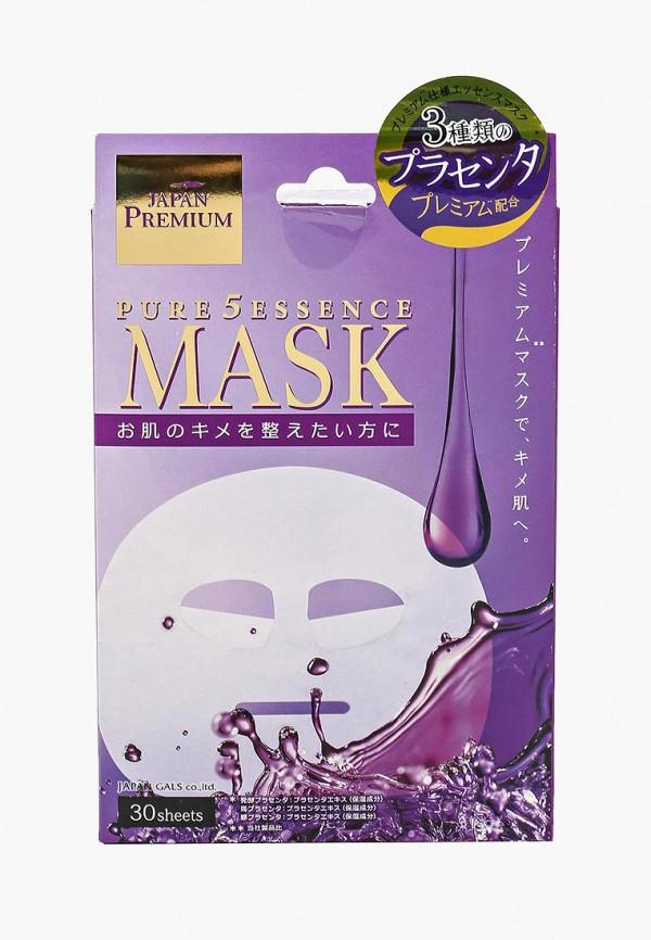 Набор масок для лица Japan Gals Japan Gals JA022LWBI641 цены онлайн
