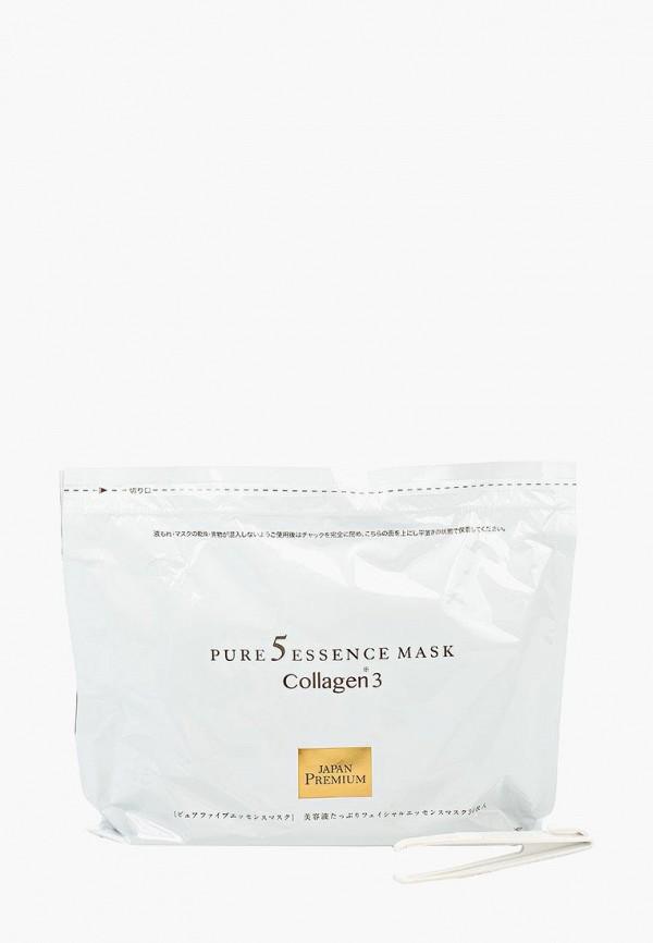 Набор масок для лица Japan Gals, c тремя видами коллагена, 30 шт., ja022lwbz377, Весна-лето 2019  - купить со скидкой