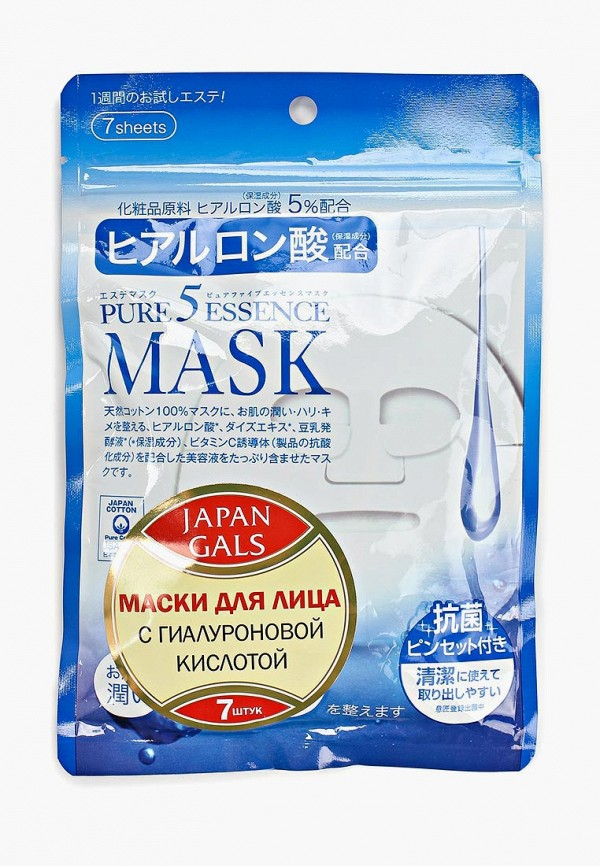 маска с гиалуроновой кислотой japan gals