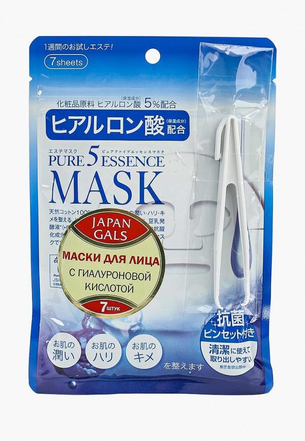Набор масок для лица Japan Gals Japan Gals JA022LWFXC26 цены онлайн