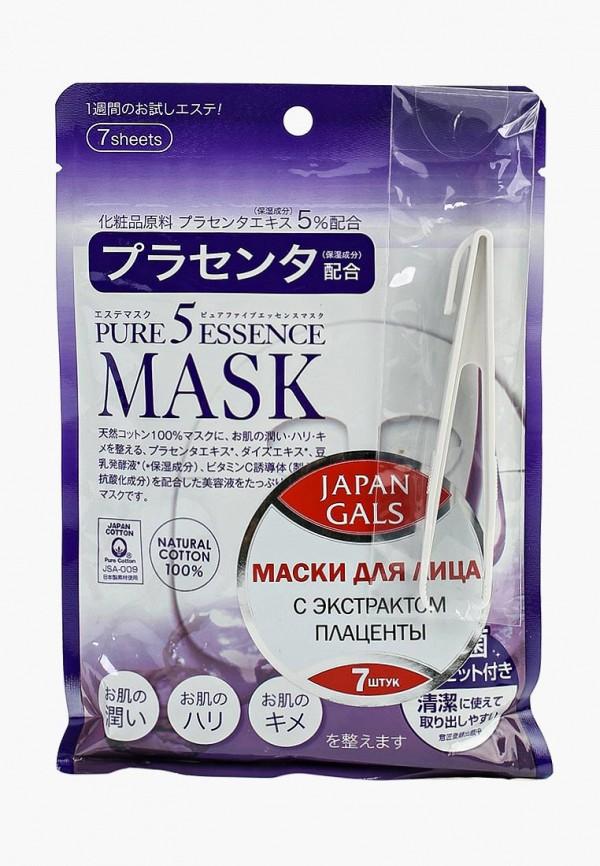 Набор масок для лица Japan Gals Japan Gals JA022LWFXC27 лосьон для лица japan gals japan gals ja022lwcwc67