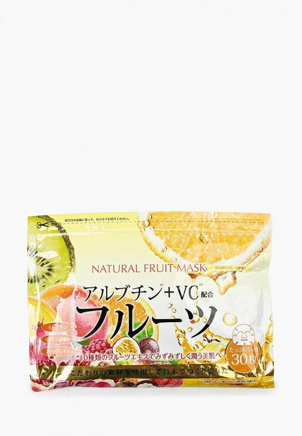 Купить Набор масок для лица Japan Gals, натуральных с фруктовыми экстрактами, 30 шт, ja022lwify51, Весна-лето 2019