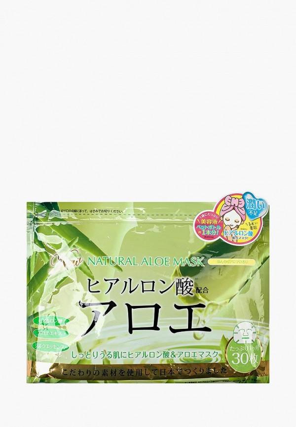 Купить Набор масок для лица Japan Gals, натуральных с экстрактом алоэ, 30 шт, ja022lwify52, Весна-лето 2019