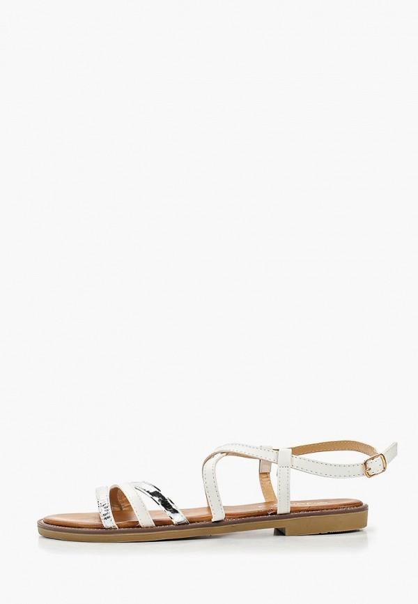 женские сандалии janessa, белые
