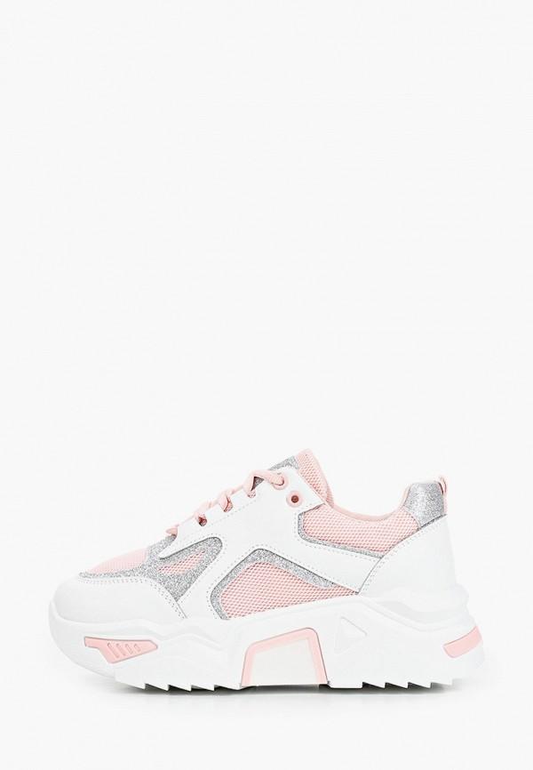 женские кроссовки janessa, розовые