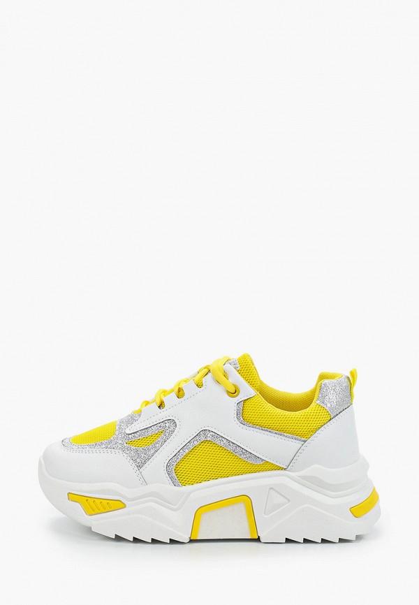 женские кроссовки janessa, желтые