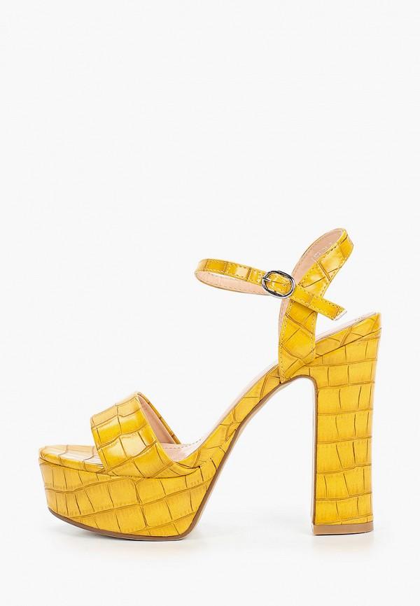 женские босоножки janessa, желтые
