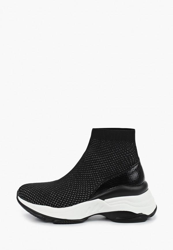 женские кроссовки janessa, черные