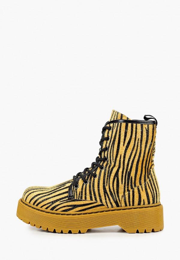 женские ботинки janessa, желтые