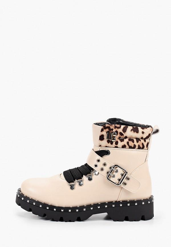 женские ботинки janessa, бежевые