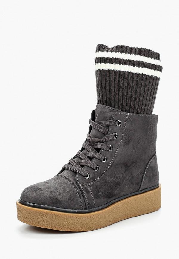 Купить Ботинки Janessa, JA026AWXYW96, серый, Осень-зима 2017/2018