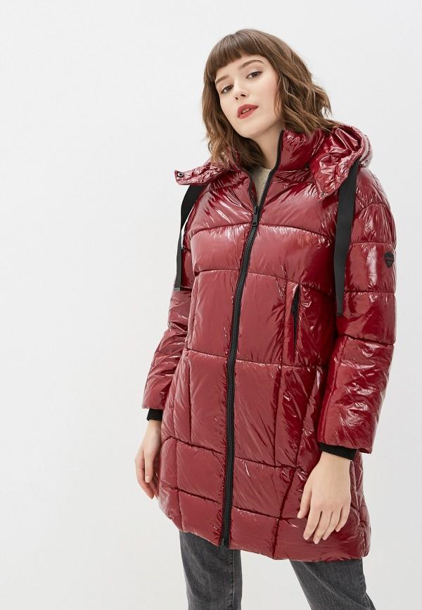 женская куртка jayloucy, бордовая