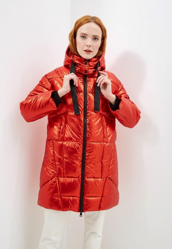 женская куртка jayloucy, красная