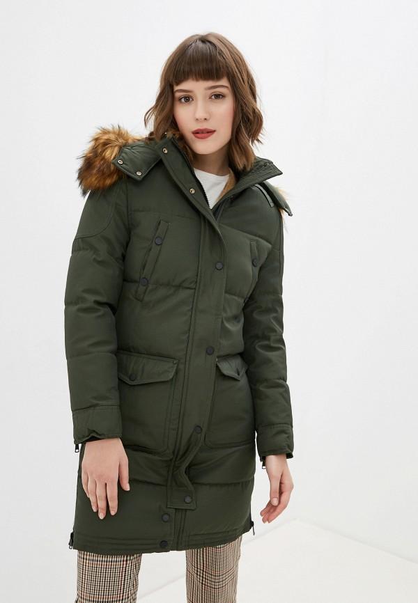 женская куртка jayloucy, зеленая