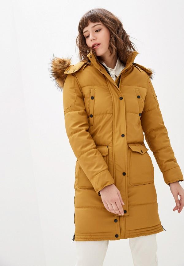 женская куртка jayloucy, желтая