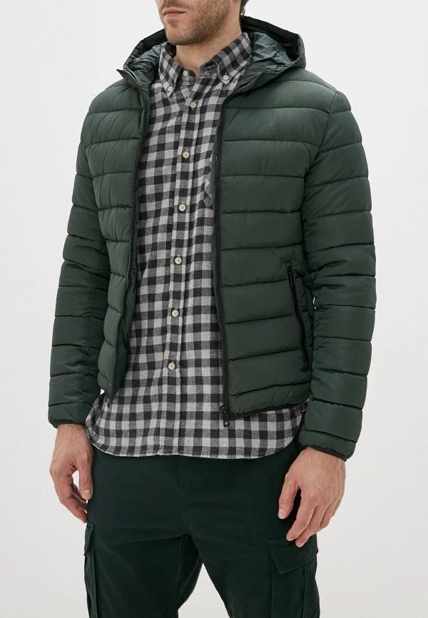 мужская куртка jackets industry, зеленая