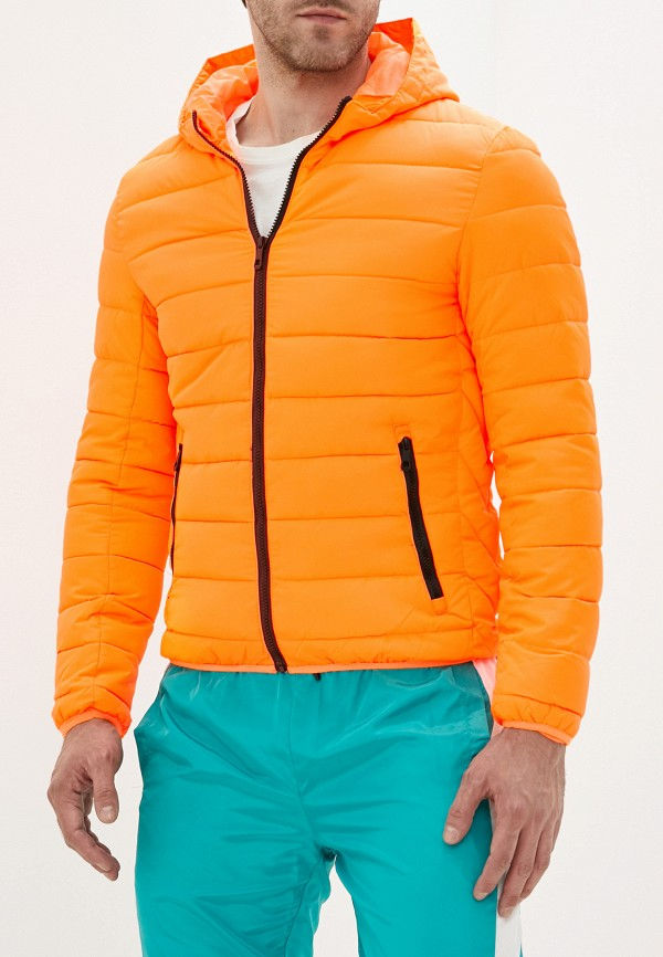 мужская куртка jackets industry, оранжевая