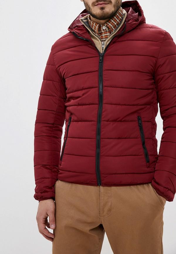 мужская куртка jackets industry, бордовая