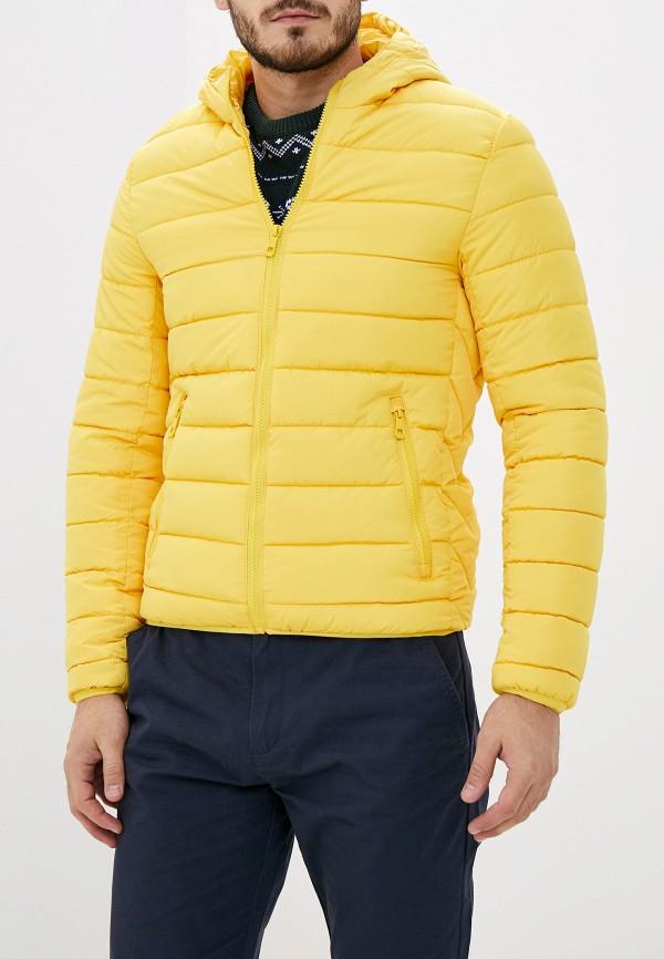 мужская куртка jackets industry, желтая