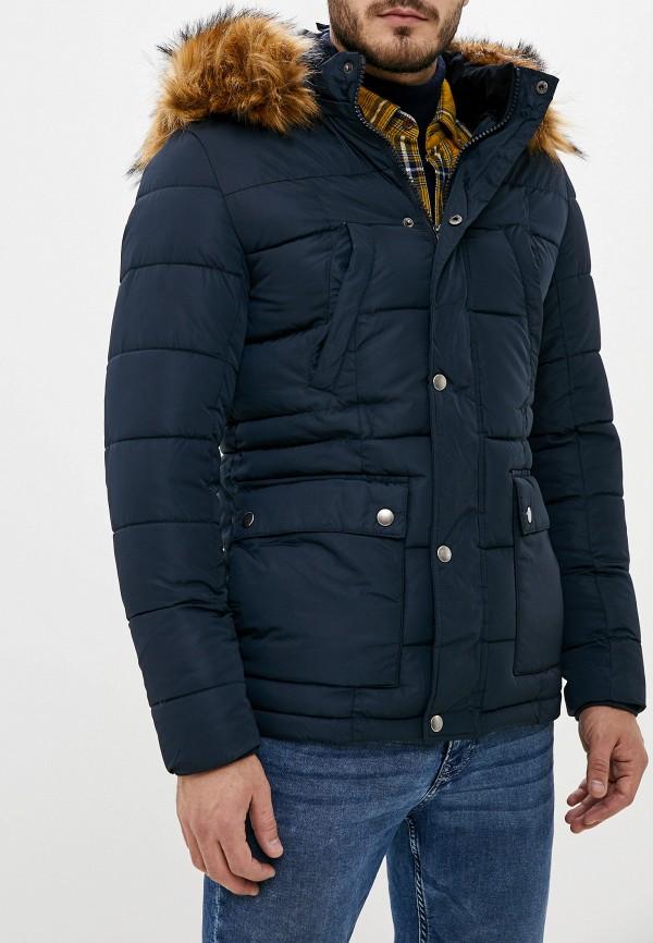 мужская парка jackets industry, черная