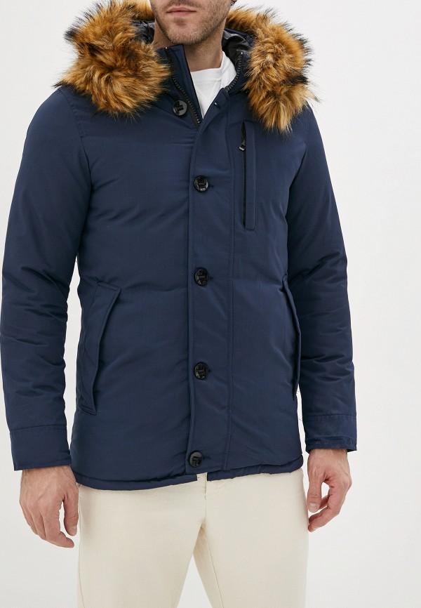 мужская куртка jackets industry, синяя