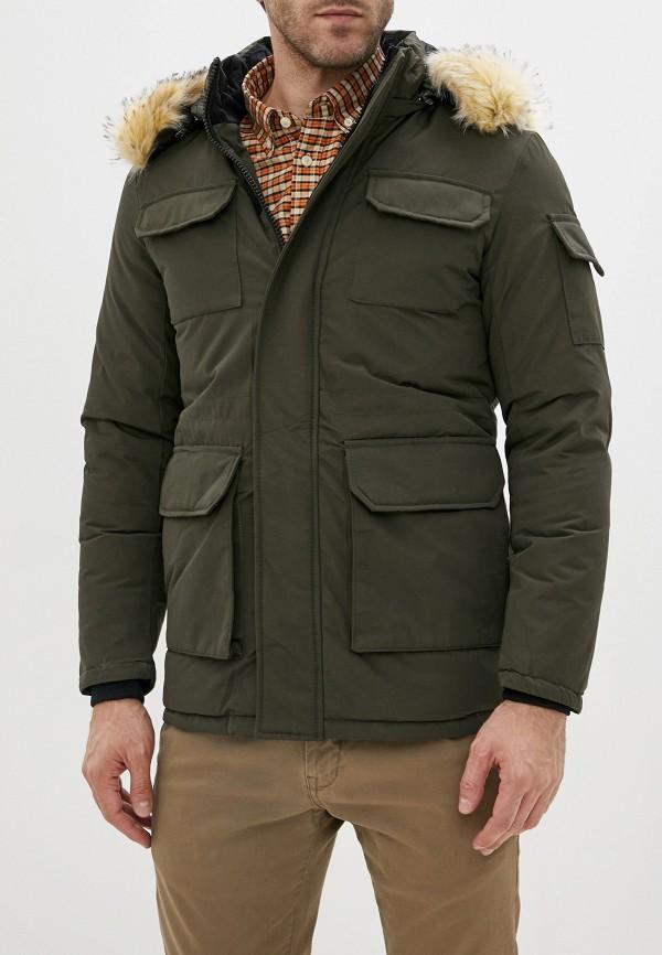 мужская парка jackets industry, хаки