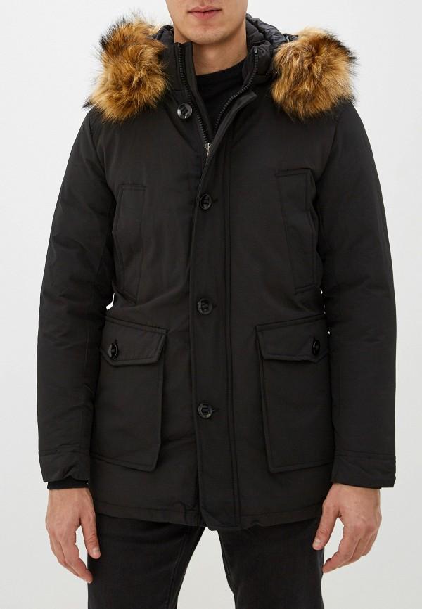 мужская куртка jackets industry, черная