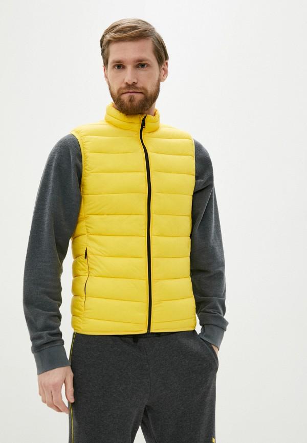 мужской жилет jackets industry, желтый