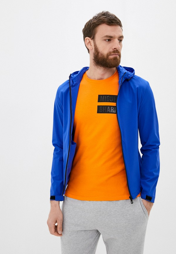 мужская ветровка jackets industry, синяя