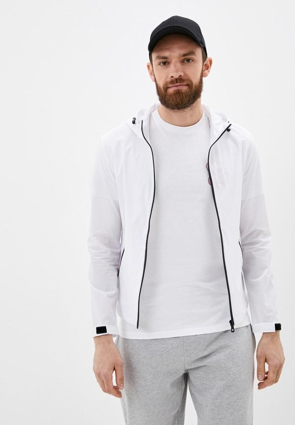 мужская ветровка jackets industry, белая