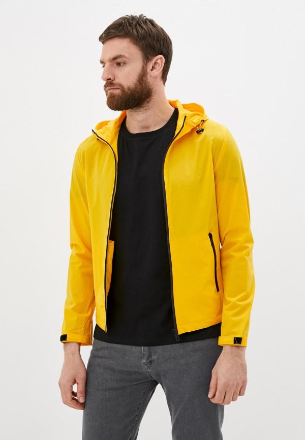 мужская ветровка jackets industry, желтая